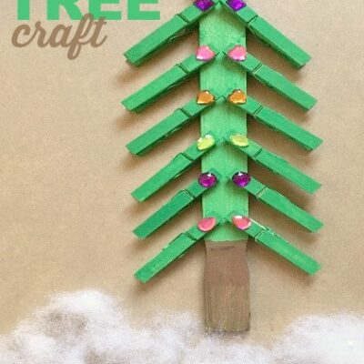 Sneak in FIne Motor Skills with an Awesome Christmas Tree Craft