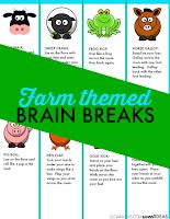 Farm brain breaks