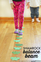 Shamrock Balance Beam Vestibular Sensory