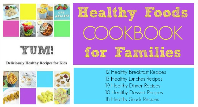 Healthy recipes for kids