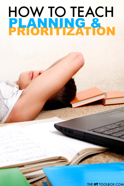 Use these tips and strategies to teach planning skills and prioritization skills, two executive functioning skills needed for everyday tasks in the classroom and home.