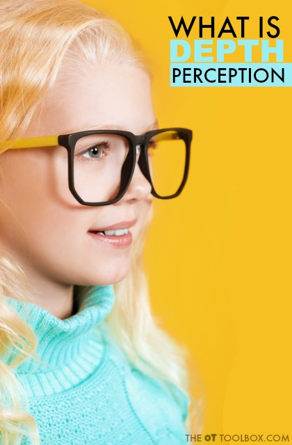 Depth perception information and activities