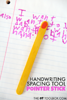 Handwriting Spacing Tool Pointer Stick