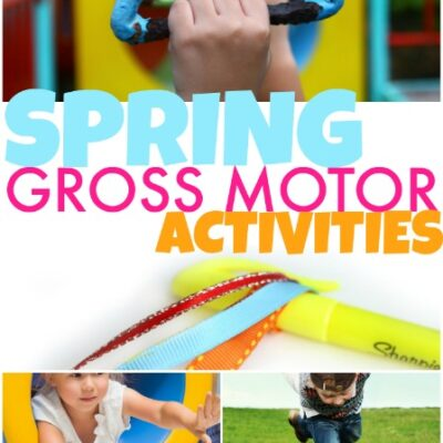 Spring Gross Motor Activities