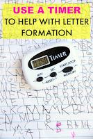 Timer for Letter formation