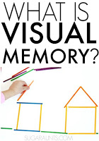 What is visual memory and why is it necessary for development of functional skills like handwriting and reading? Tips and activities from to work on visual memory in kids and adults.