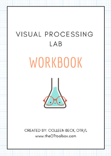Visual processing lab is great for better understanding visual perception, oculomotor skills, visual motor integration, and more.