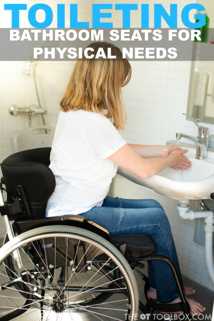 Use these potty training seats for special needs kids when beginning the potty training process with kids of all needs.