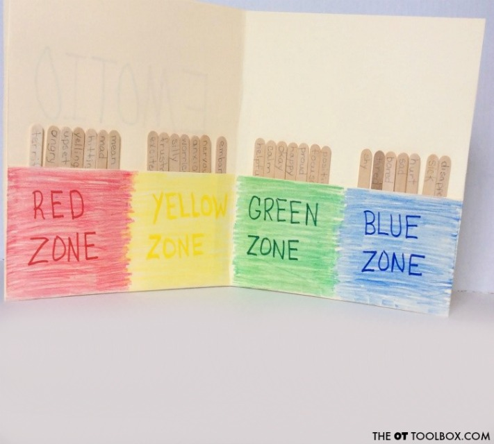 Use this zones of regulation activity to help kids with self-regulation and coping strategies for emotional regulation at home or at school.