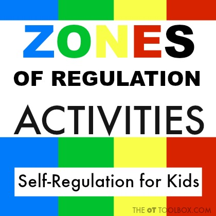 Zones of regulation activities for kids and ideas for teaching kids self-regulation