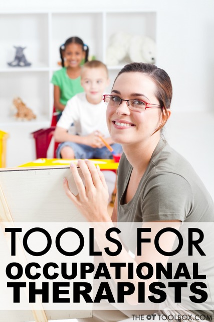 Tools and resources for occupational therapists to use in school based OT