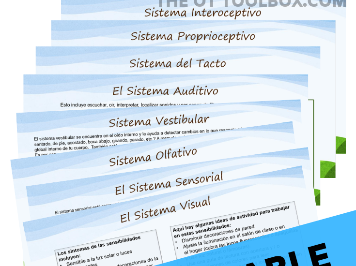 Spanish Occupational Therapy Resource