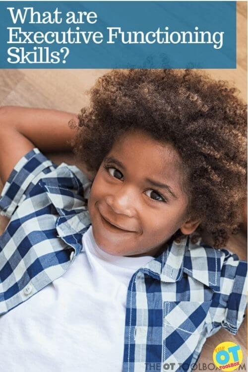 Executive functioning skills in kids
