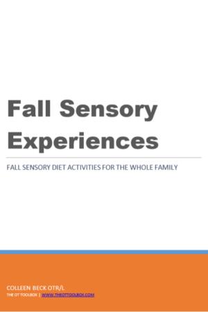 Fall sensory experiences