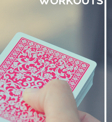 Fine Motor Activities with Playing Cards