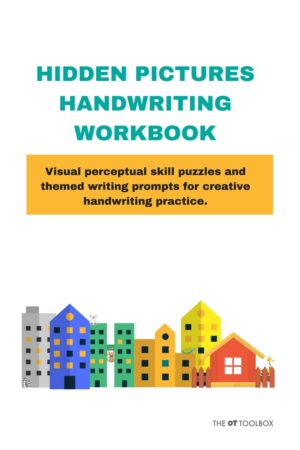 hidden pictures handwriting workbook The OT Toolbox