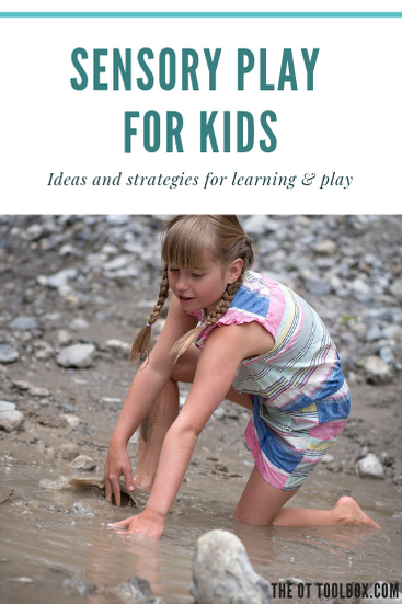 Sensory play ideas for kids to inspire learning and sensory processing experiences