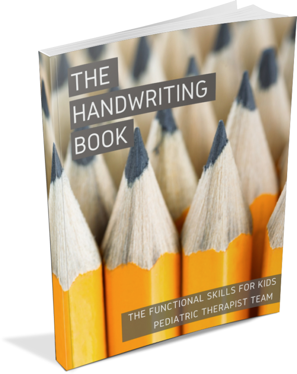 the handwriting book The OT Toolbox