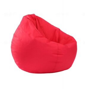 Bean bag chair is a flexible seating idea for the classroom
