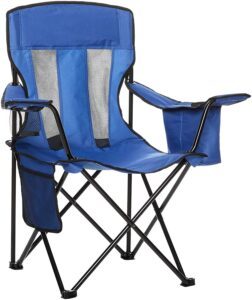 Use a camp chair as a cheap flexible seating idea for the classroom.