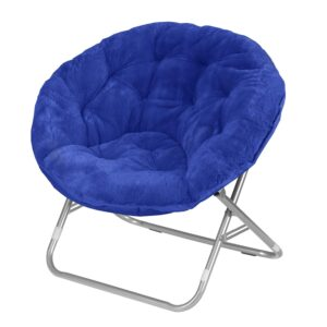 Use a papasan chair in the classroom as a sensory seating idea for students.