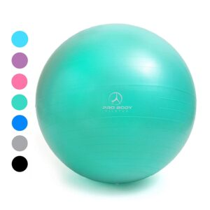 A therapy ball makes a great flexible seating option in classrooms.