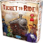 Ticket to ride game to improve executive function