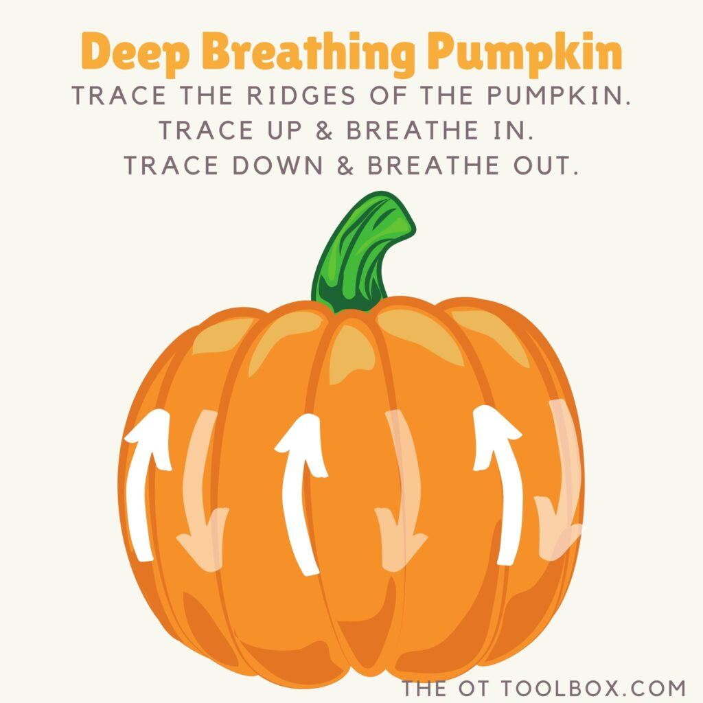 Pumpkin Deep Breathing Exercise The Ot Toolbox