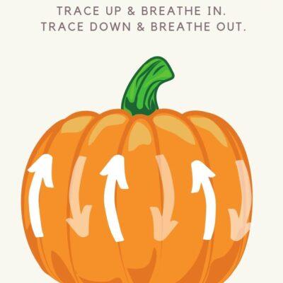 Pumpkin Deep Breathing Exercise