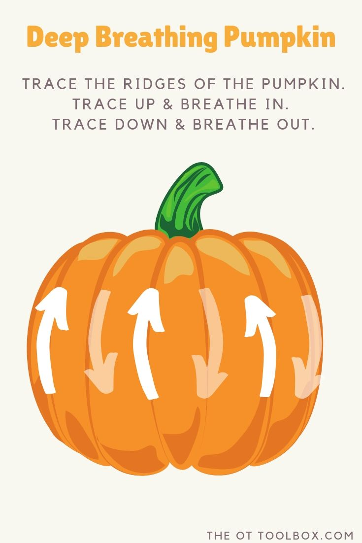 deep breathing mindfulness activity for halloween
