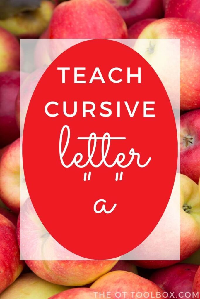 These handwriting tips can help teach kids how to write cursive a