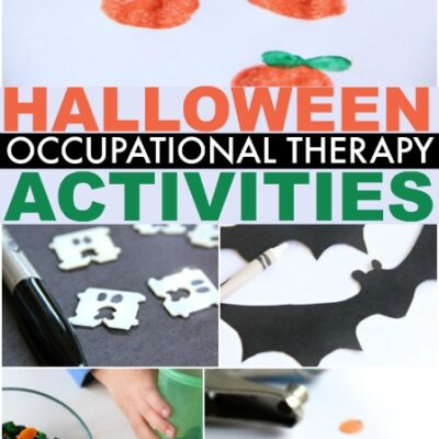 Halloween Occupational Therapy Activities