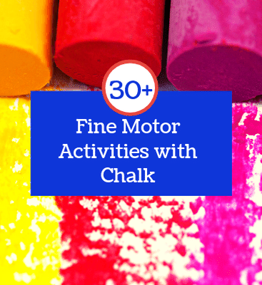 Fine Motor Activities with Chalk
