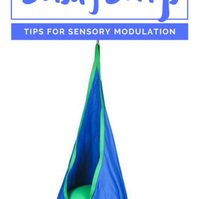 Sensory Swing for Modulation