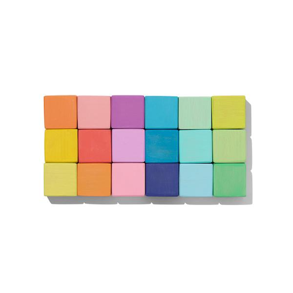 Lovevery block set and block activities for kids