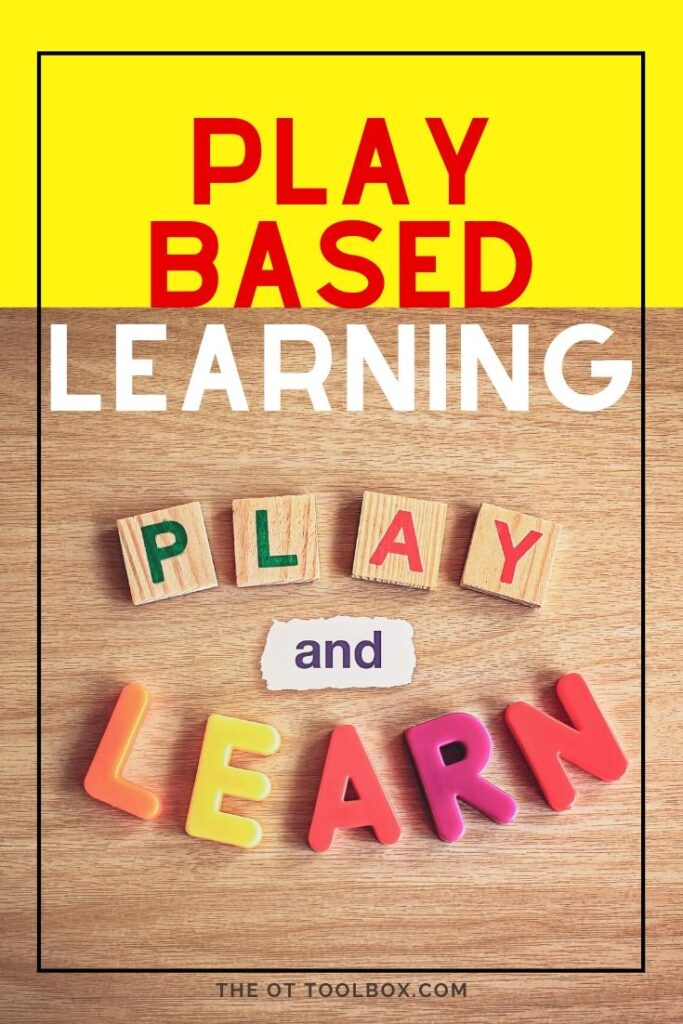Play based learning ideas for kids