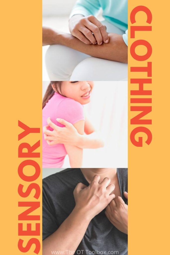 Sensory friendly clothes and common sensory clothing issues that kids have.