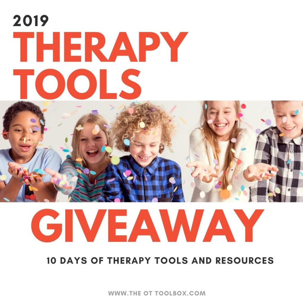 Therapy tools giveaway items