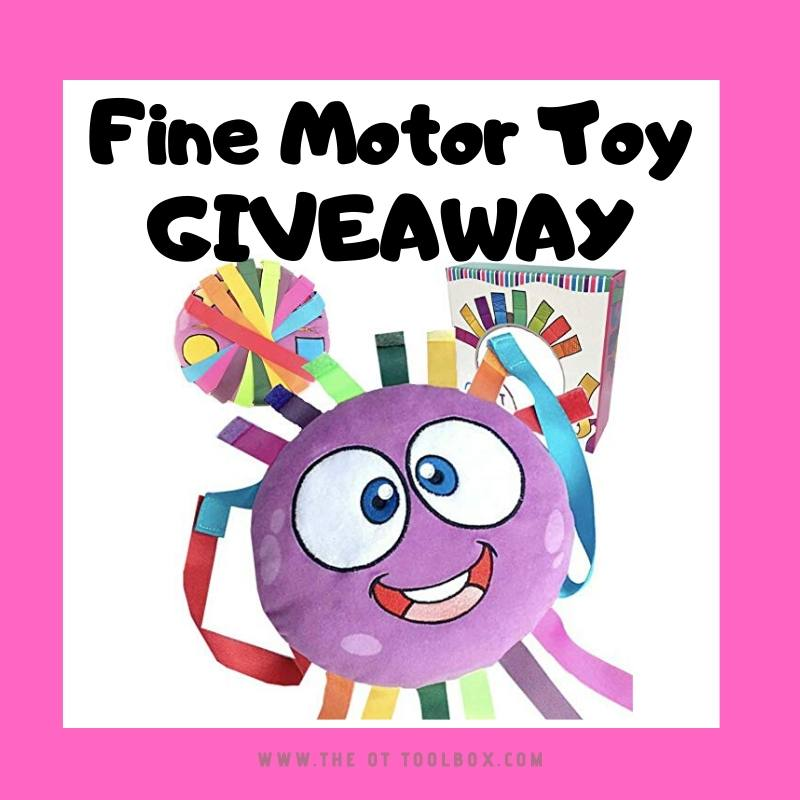 fine motor toy giveaway for week of therapy giveaways