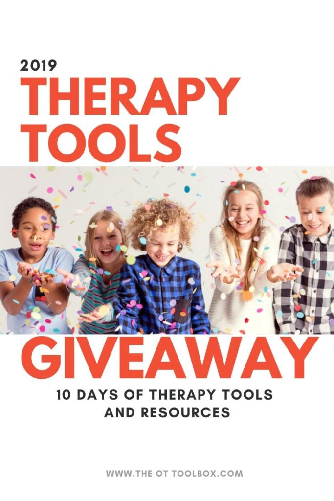 These therapy giveaway items are perfect for occupational therapists and anyone working in pediatrics.