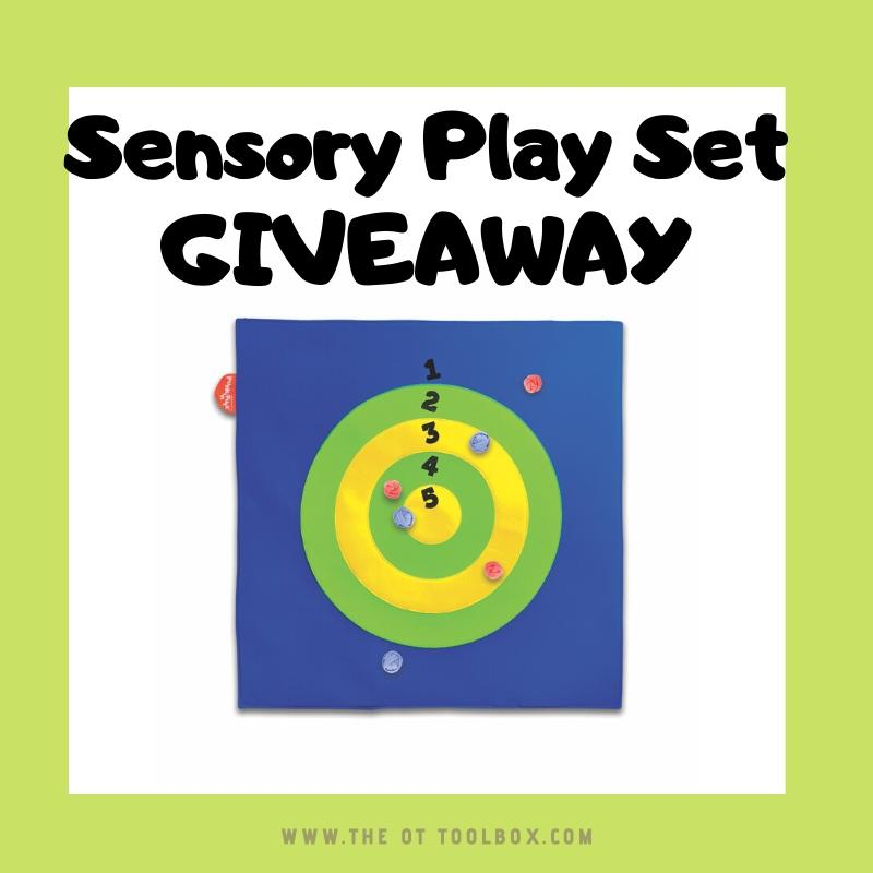play and learn set giveaway for therapy giveaway