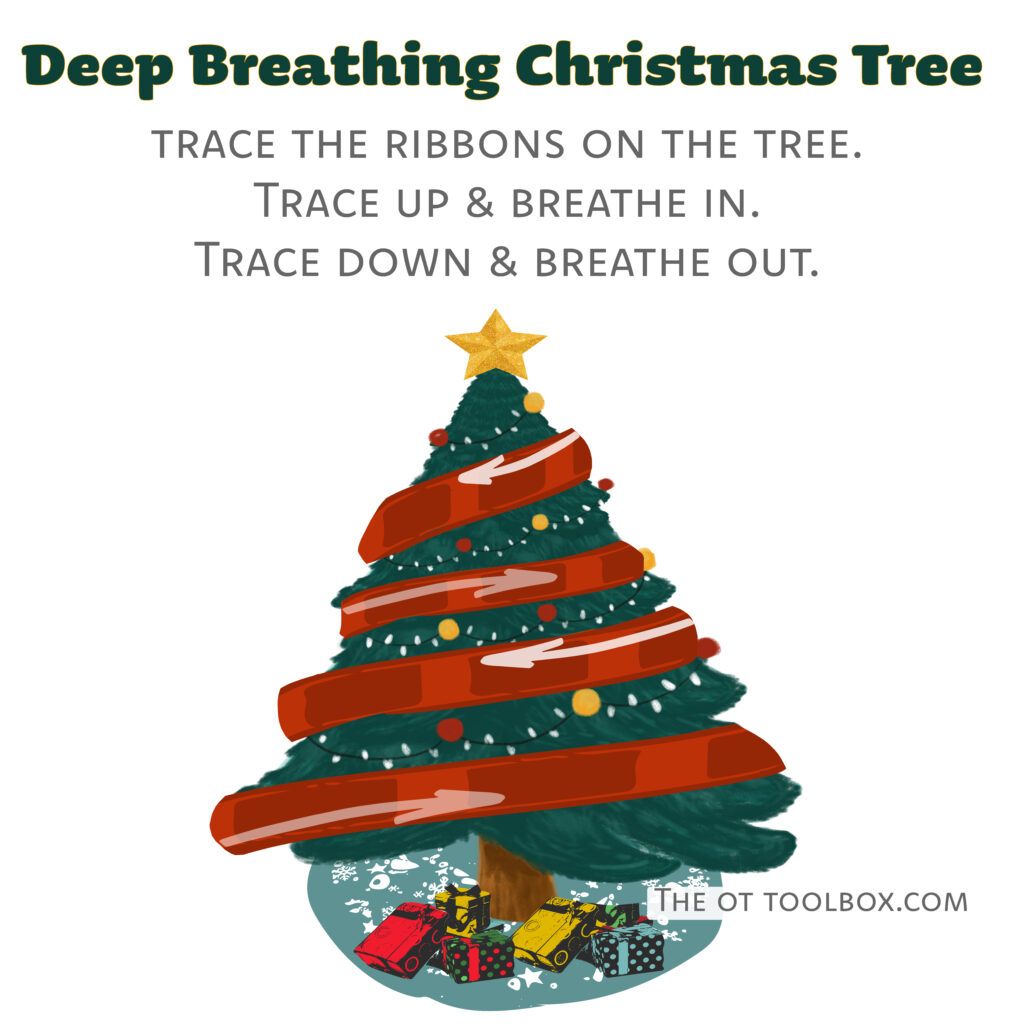 Christmas mindfulness activity
