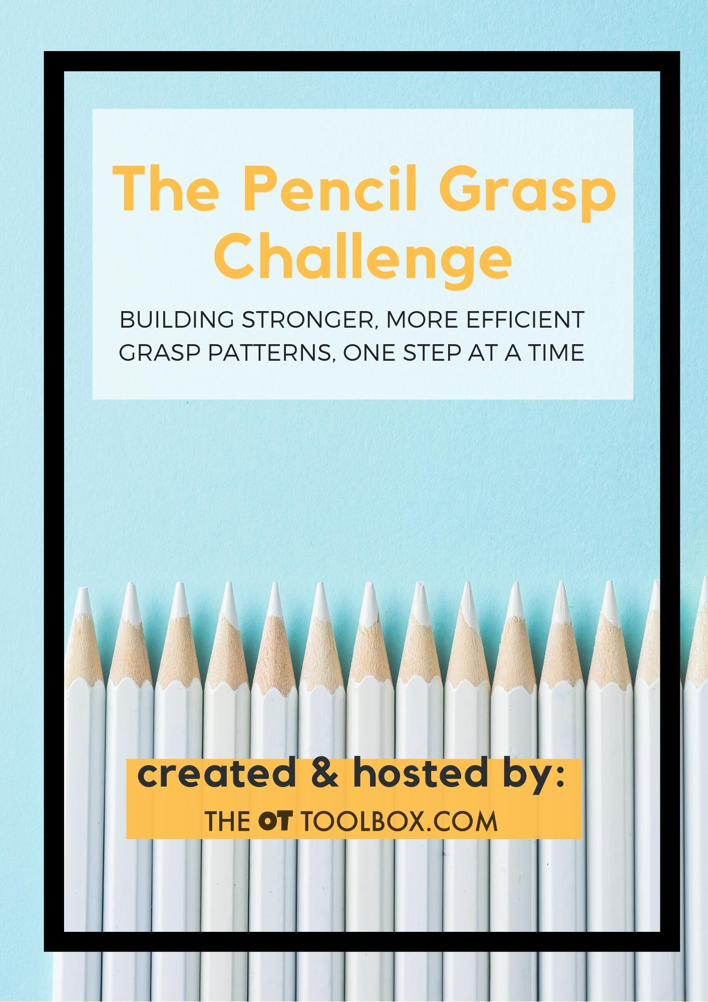 The pencil grasp challenge for kids