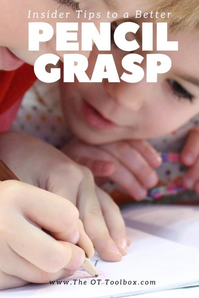 Functional pencil grasp is a skill kids need for efficient and legible handwriting