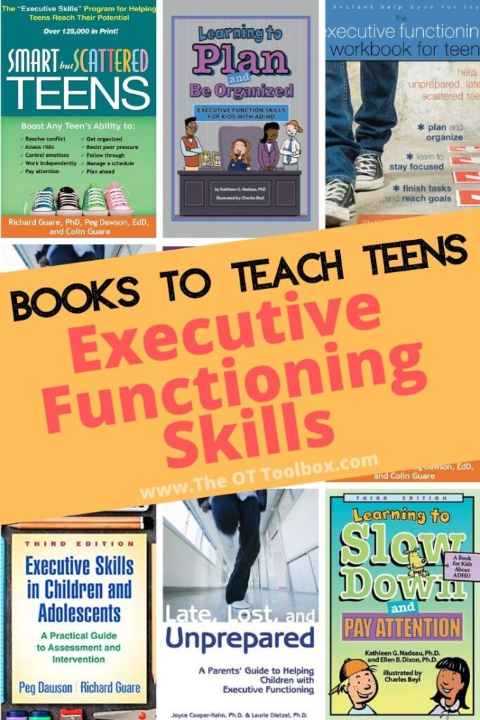 Executive function books for teens