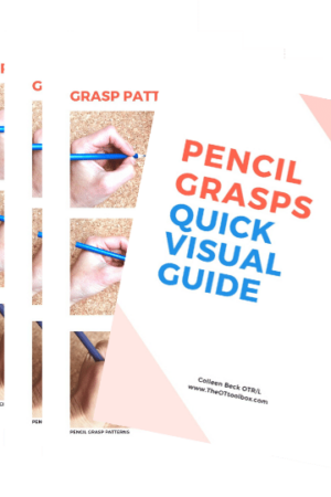 visual pencil grasp info