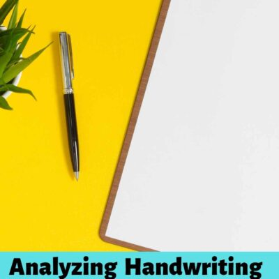 Handwriting Analysis Observations