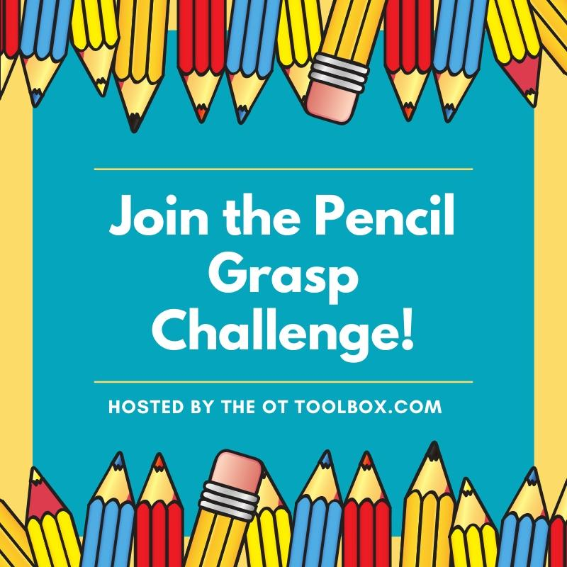 Join the pencil grasp challenge series to build fine motor skills in kids