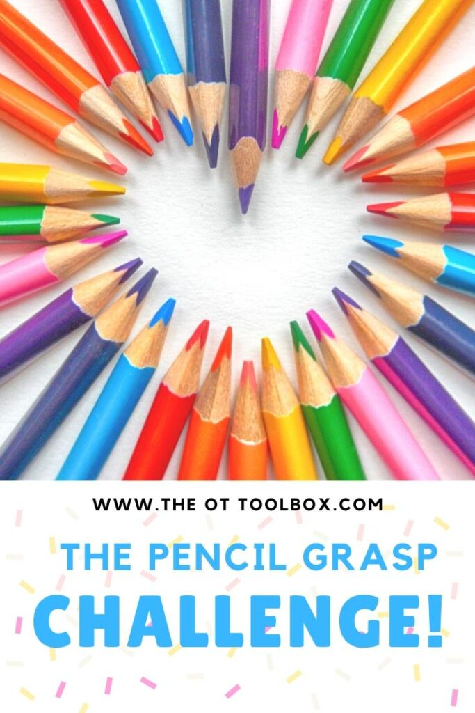 Use these pencil grasp activities to  help build the fine motor skills kids need for handwritng