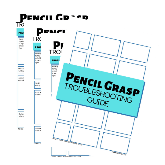 pencil grasp troubleshooting